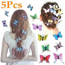 butterfly, Head Bands, Jewelry, Bride