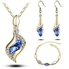 Fashion, Crystal Jewelry, Elegant, Women's Fashion
