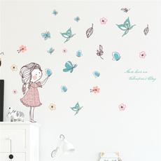 butterfly, wallpapersticker, art, Home Decor
