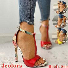 Summer, Plus Size, Womens Shoes, leather