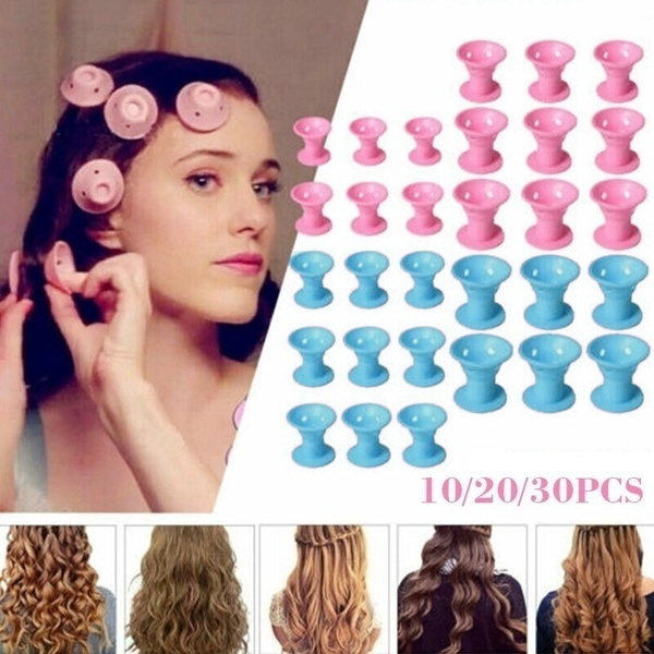 Hair Curlers, hairrollermaker, Magic, Silicone