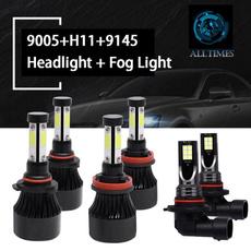 Dodge, LED Headlights, 4sideledheadlight, 6000kwhite