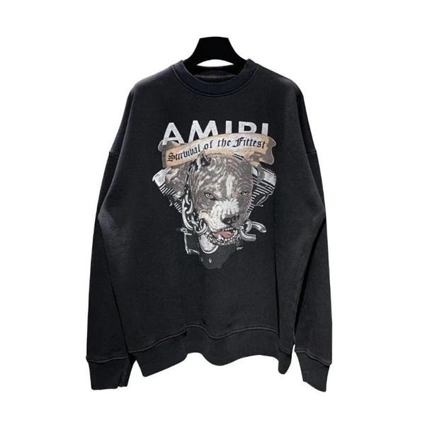 amiri, Casual Hoodie, Necks, Sweaters