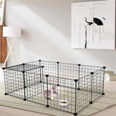 rabbit, fence, Pets, guinea