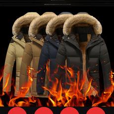 casual coat, warm coat, Fashion, velvet