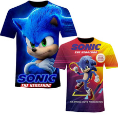 sonic, Shorts, Shirt, Sleeve