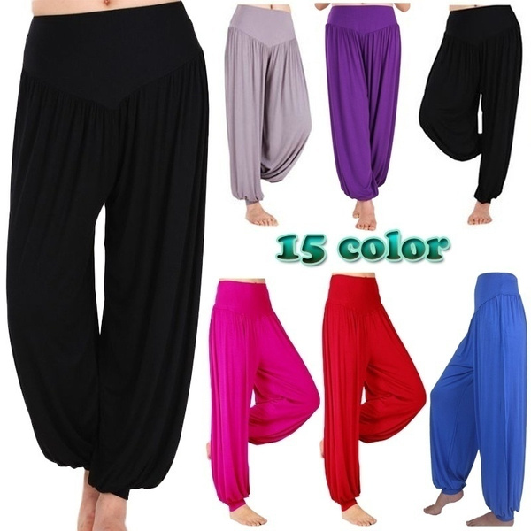 boho, fashion women, Fashion, Casual pants