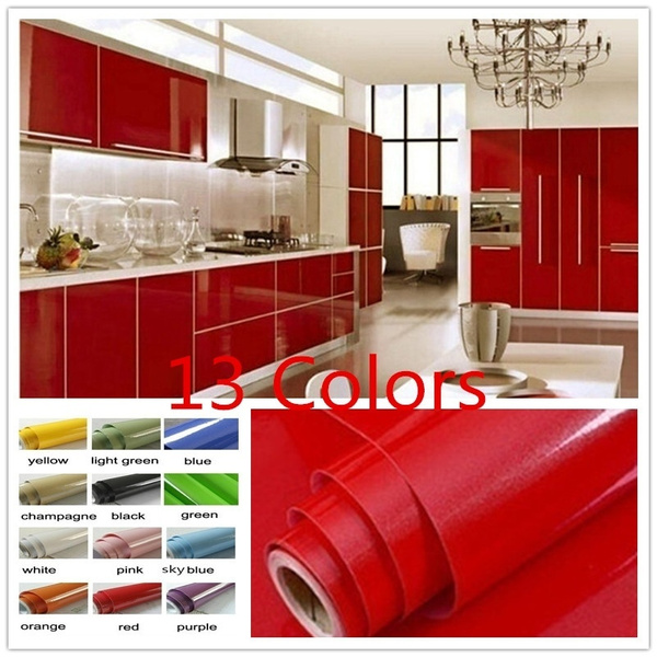 Wallpaper, Home Decor, Waterproof, kitchencabinetsticker