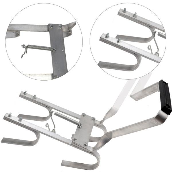 aluminumalloybracket, vshapedbracket, ladder, downpipeladderbracket