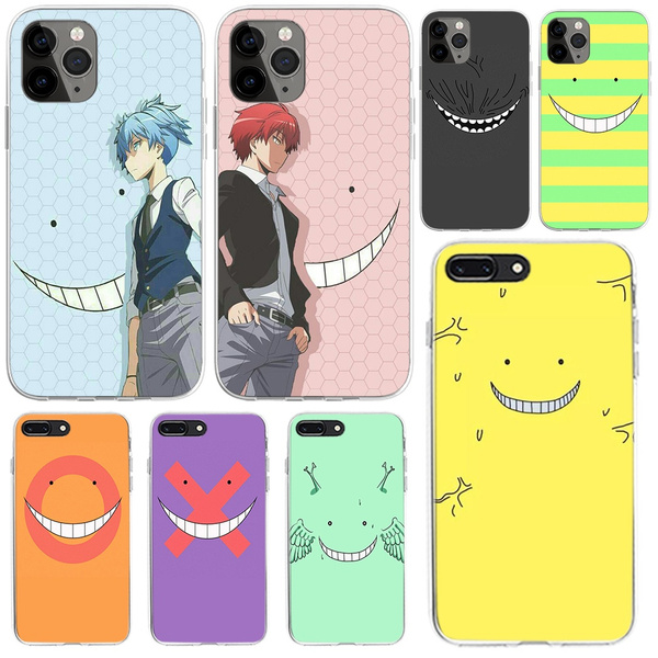 Anime Assassination Classroom Ansatsu Kyoushitsu Phone Case Cover for IPhone 5 5S SE 5C 6 6s 7 8 Plus XS XR XS 11 Pro Max X Coque for Samsung Galaxy ...