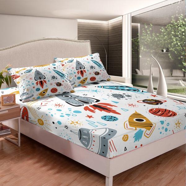 Decor, decorfittedsheet, bedsheetset, Colorful