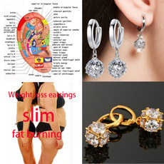 weightlossearring, Fashion, 925 sterling silver, Gifts