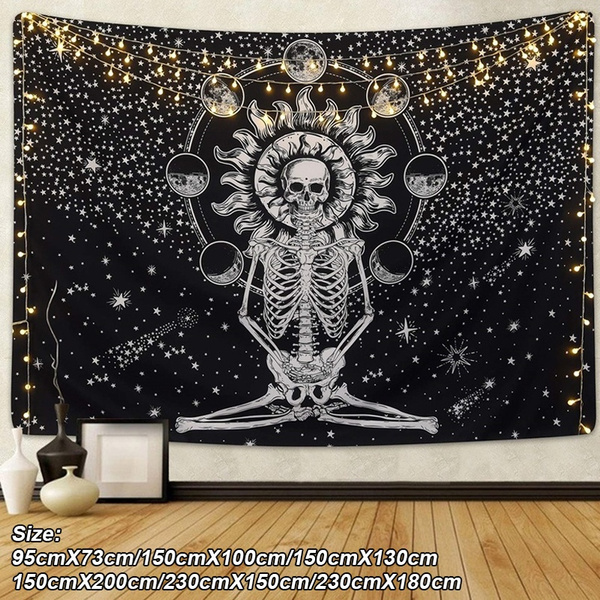 Home & Kitchen, cortinasparasala, Wall Art, Skeleton