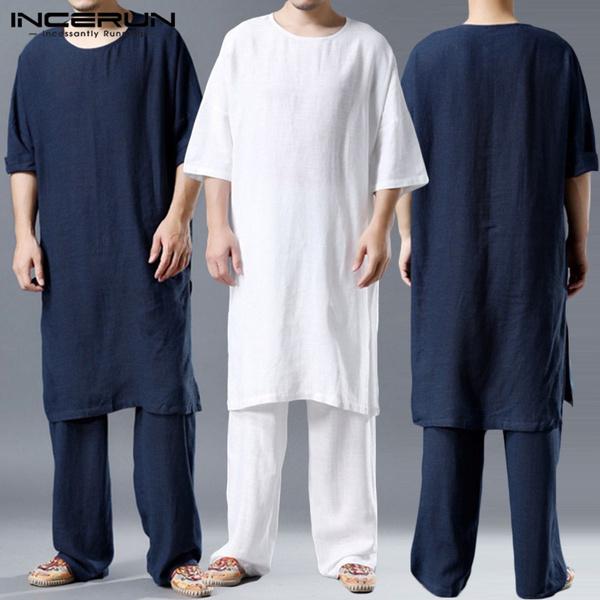 kimonoshirt, homewear, Fashion, cottonlinen