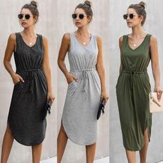 Summer, Fashion, Dresses, plus size dress