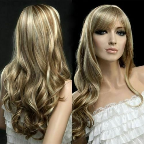 wig, Style, Curly, long