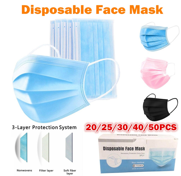 Nail salon, dustmask, earloop, Masks