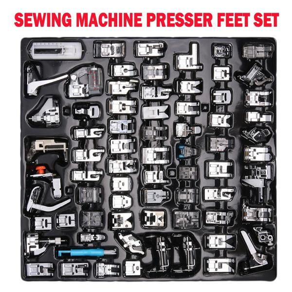 stitchfoot, sewingmachinefoot, Sewing, presserfootset