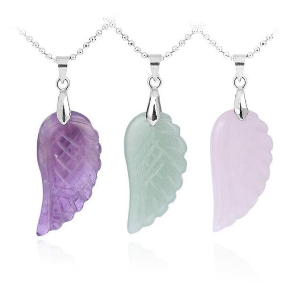 Necklace, Lapis, amethystwingsnecklace, lapislazuliwingsnecklace
