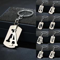 doubledeckpendantkeychain, doubledeckletterkeychain, Chain, Simple