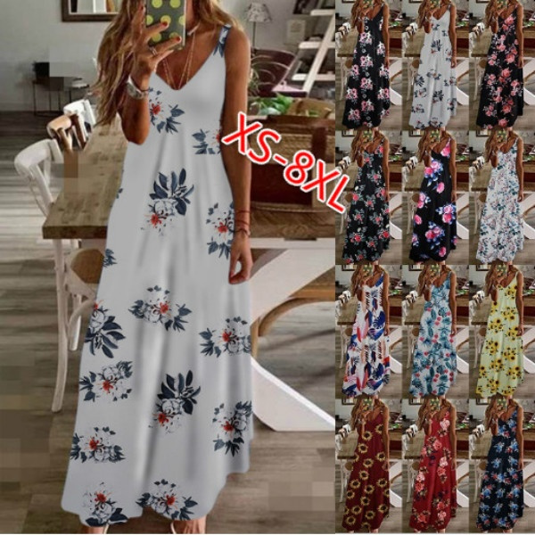 Summer, spaghettistrapdresse, long dress, plus size dress