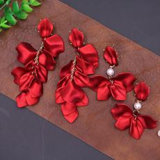 Sterling, roseearring, Fashion, Dangle Earring