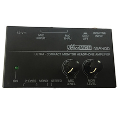 Microphone, Monitors, preamplifier, Amplifier