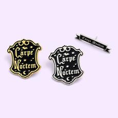 Goth, Fashion, Shirt, Brooch Pin