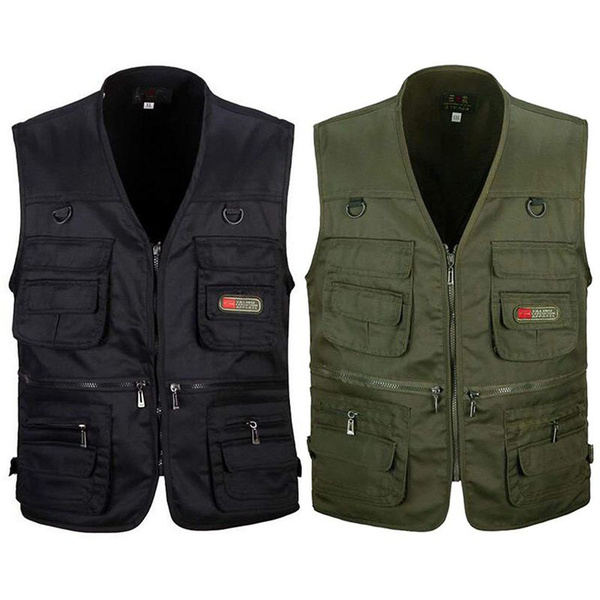 outdoorsportsjacket, huntingtraveljacket, Vest, Men