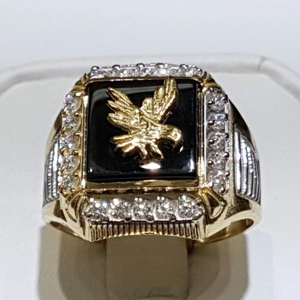 ringsformen, eaglering, gold, 18k gold ring