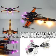 lego75102, Toy, led, usb