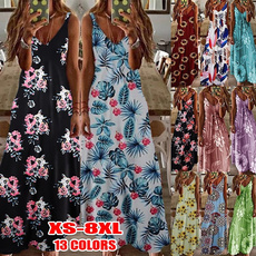 Summer, Plus Size, Halter, Skirts