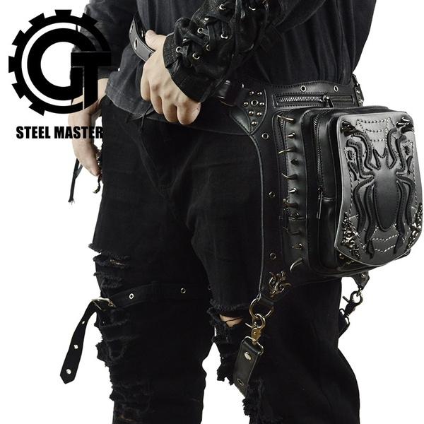 women bags, Shoulder Bags, Goth, Waist