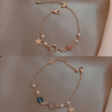 Charm Bracelet, friendgift, Fashion, Star