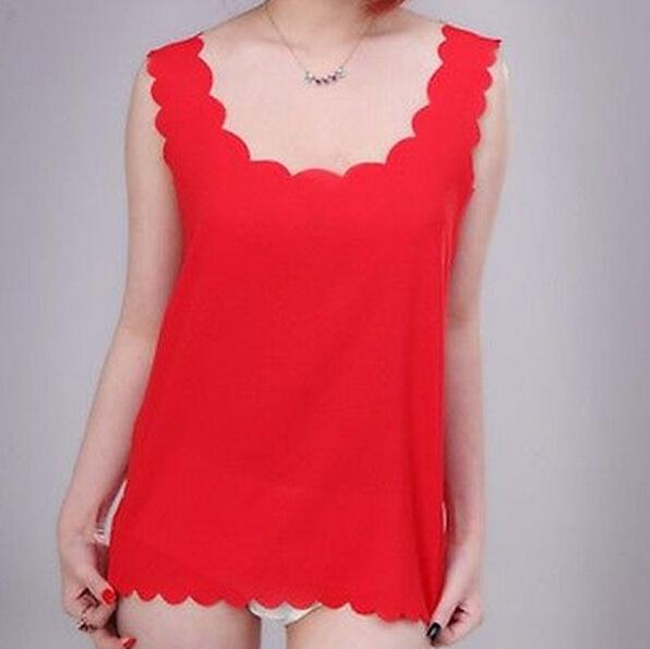 blouse, Vest, Fashion, cutechiffonpetaltop