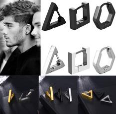 Beautiful, Steel, Hoop Earring, Men Earrings