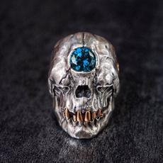 Steel, Goth, cyclop, skull