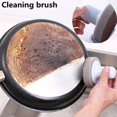 scrubberforkitchen, Kitchen & Dining, rustremover, cleaningspongebrush