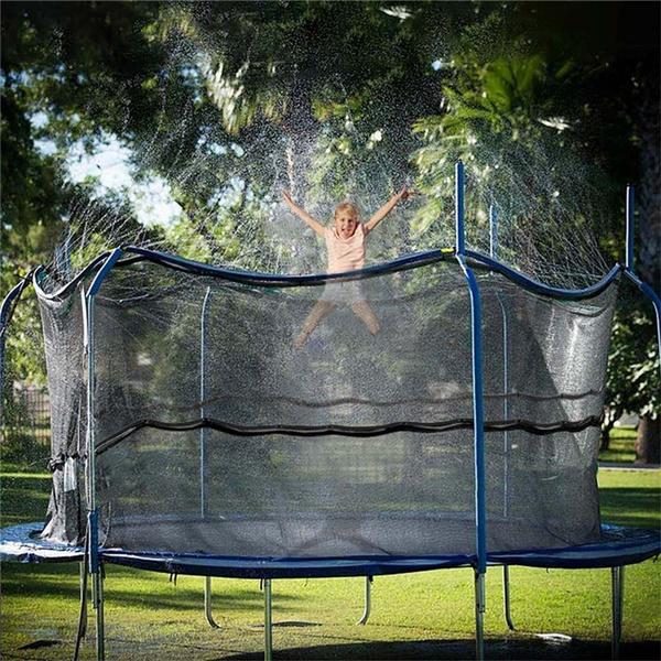 trampolinesprinkler, Summer, watergamestoy, Garden