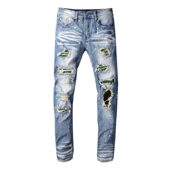 Blues, men jeans, amiripant, motorcyclejean