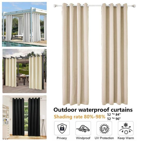 curtainsforgarden, Outdoor, porch, waterproofcurtain