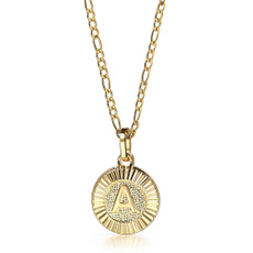 Steel, goldplated, Jewelry, Chain