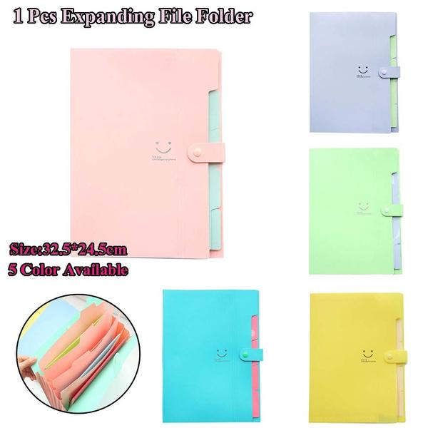 expandingfilefolder, School, Pouch, candy color
