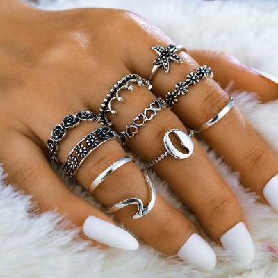 party, Jewelry, Beaded, ringset