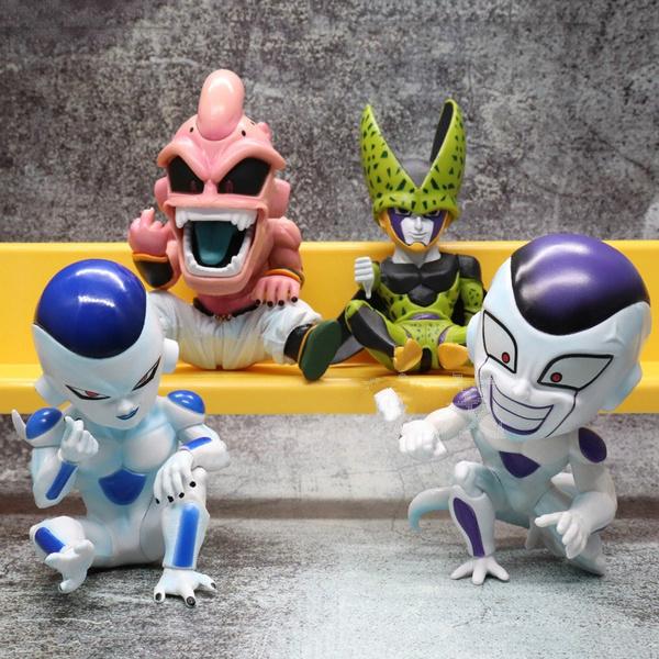 cute, collectionmodeltoy, animemajinbooactionfigure, friezaactionfigure