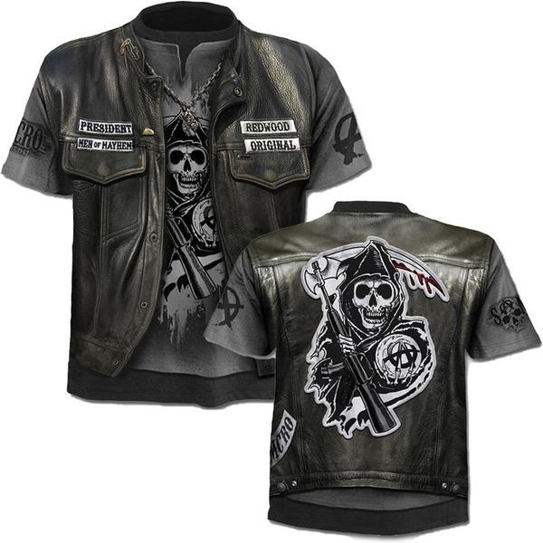 heavymetalmantshirt, sonsofanarchyteeshirt, Tops, Shirt