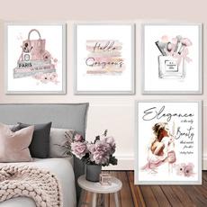pink, canvasart, Fashion, Wall Art