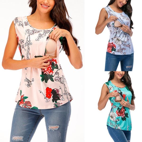Summer, Vest, Fashion, nursingclothe