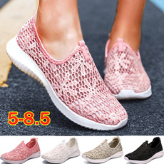 Summer, Sneakers, Plus Size, Lace