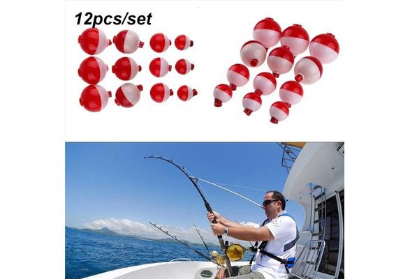 10Pcs Plastic Fishing Floats Buoyancy Stick Rock Fishing Drift Sea Floats 4sizes